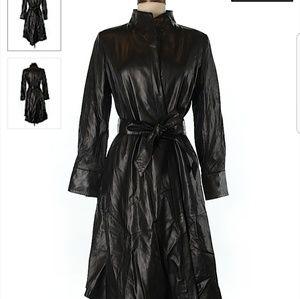 Couture Leather Coat Jacket $1400, Morosard OBO