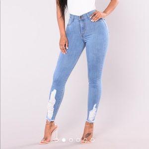 Fashion Nova Ella Skinny Jean