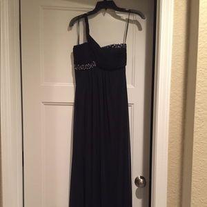 Cache, navy blue, formal dress