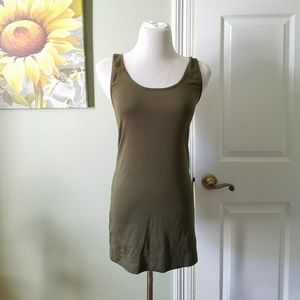 Maternity Supersoft Green Tank Lg NWT
