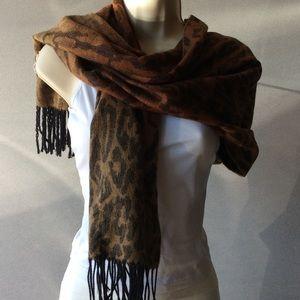 Large  animal print scarf/wrap