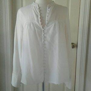 Free People Blouse Sz Med