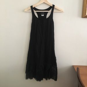 NWOT Free People Slip Dress with lace trim