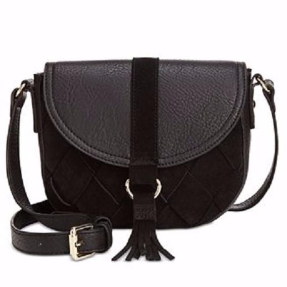 d98dfb313ed1 International Concepts Ella saddle bag black