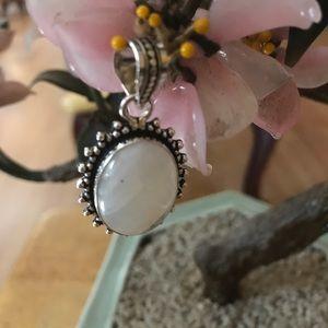 Vintage 925 moonstone pendent