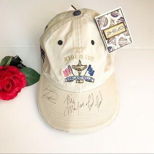 a1e69b5eb1c ... Accessories - Fred Funk Billy Mayfair autographed baseball cap high  fashion 8d64e 5ad1f . ...