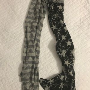 Urban Outfitters American Flag Scarf- NWOT
