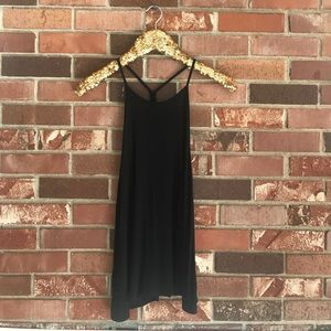 Black High-Neck Swing Tank