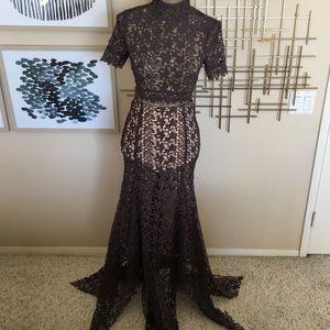 L'atiste Gray Crochet 2 Piece