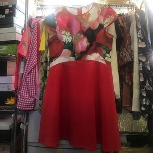 Ted Baker Red Calee dress