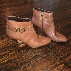 Bandolino Leather Booties