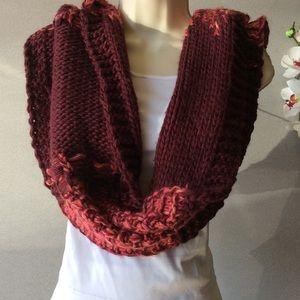 Chunky loop scarf