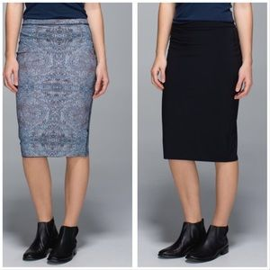 Lululemon Twice as Nice Reversible Skirt