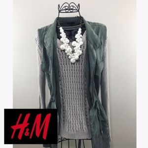 H&M Tan Sweater