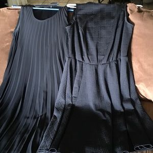 🔥🔥2 Super cute black dresses. Great condition.