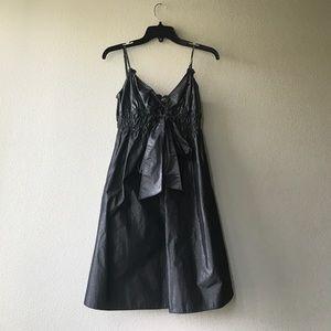 Max Studio Gunmetal Dress