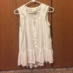 Off white Lacey blouse