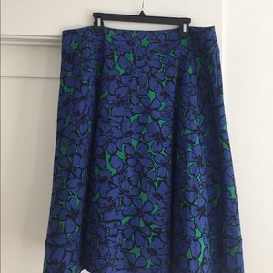 A-line skirt from Lane Bryant Modernist collection
