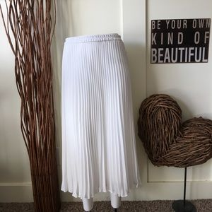 "Chaps ""Pearl"" pleated skirt"