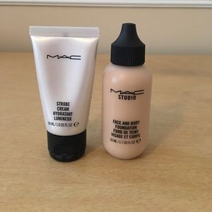 MAC Face and Body Foundation and Strobe Cream