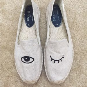Soludos Espadrille Winky Face Shoes