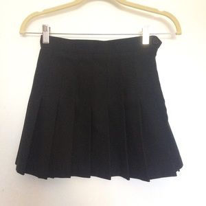 ❗NO SWAPS❗Black Tennis Skirt