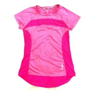Like New Reebok pink workout shirt short sleeve S