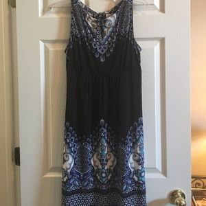 Black and Blue dress perfect for the office