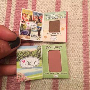 The Balm - eyeshadow & blush - BUNDLE DISCOUNT