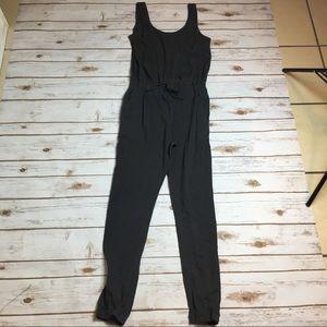 Grey forever 21 jumpsuit