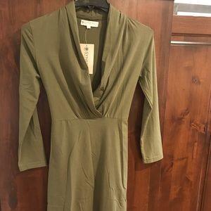 Synergy Green Dress Tunic
