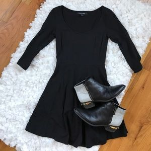 Scoop Neck Skater Dress