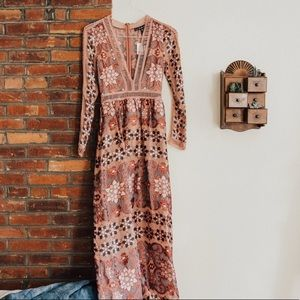 For Love and Lemons Maxi Dress XS