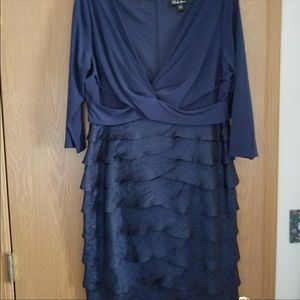 SL Navy semi formal dress