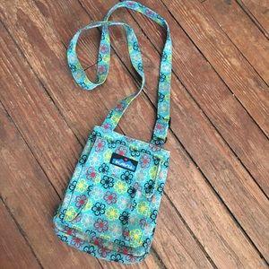 kavu cross body satchel bag
