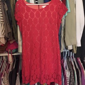 Xhilaration lace shift dress