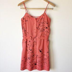 RACHEL ROY Sleeveless Fish Print A-Line Dress