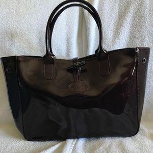 Longchamp Patent Handbag
