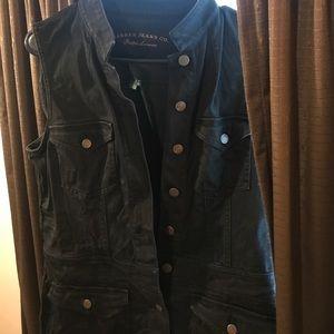 Ralph Lauren black denim dress