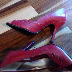 Red Steve Madden Heels