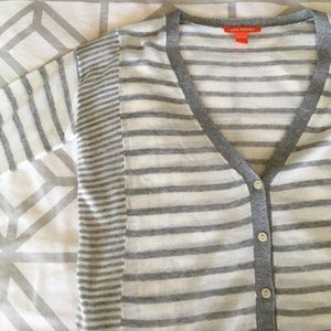 Joe Fresh Striped Cardigan XS