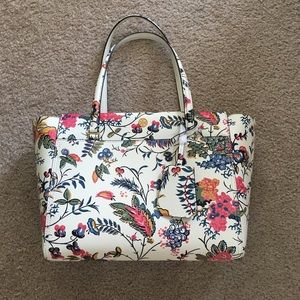 Tory Burch Small Parker Floral Tote
