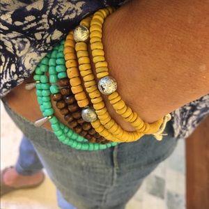 Buji Baja Bracelets Yellow