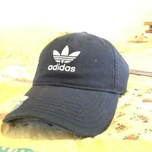 Vintage Navy Blue Vintage looking Adidas Hat