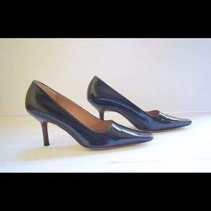 Gucci Shoes - Gucci Chocolate Brown Patent Leather Pump SZ 7