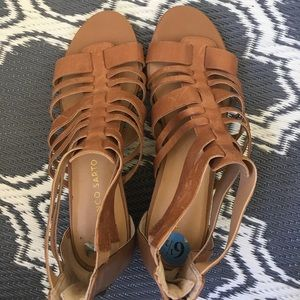 Franco Sarto: brown sandals