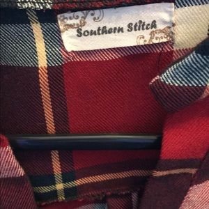Southern Tide Tops - Southern Stitch Plaid Tunic🍂🍃
