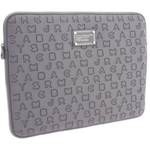 "Marc Jacobs | Neoprene 15"" Laptop Case in Gray"