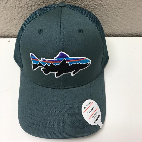 f77d0bb38b0b3 Patagonia Fitz Roy Trout Trucker Hat