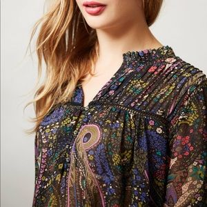Paisely Dolan Blouse